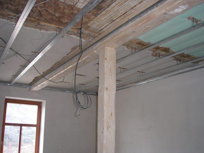 Rekonstrukce, půdní vestavba, zateplení, sádrokarton - Malé Kyšice u Kladna