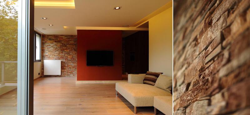 Finální podoba rekonstruovaného bytu včetně detailu - Liberec